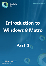 Ebook: Introduction to Windows 8 Metro Part 1