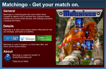Matchingo - A Silverlight Memory Game